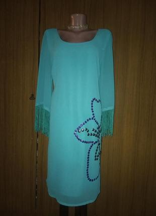 Вечернее шифоновое платье от anna schols