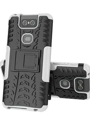 Чехол Armor Case для Asus Zenfone 6 / ZS630KL Белый (arbc5619)