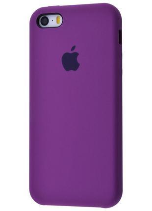 Чехол Original Case для Apple iPhone 5 / 5S / SE Grape (arbc8170)