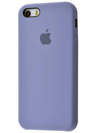 Чехол Original Case для Apple iPhone 5 / 5S / SE Lavander Grey...