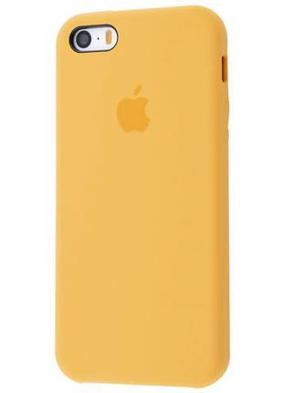 Чехол Original Case для Apple iPhone 5 / 5S / SE Yellow (arbc8...