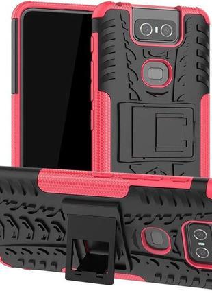Чехол Armor Case для Asus Zenfone 6 / ZS630KL Rose