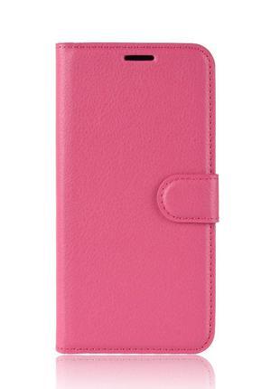 Чехол-книжка Litchie Wallet для Asus Zenfone 6 ZS630KL Rose (h...