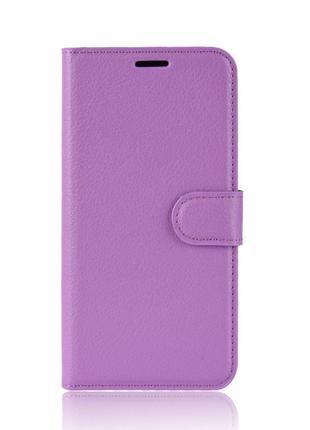 Чехол-книжка Litchie Wallet для Asus Zenfone 6 ZS630KL Violet ...