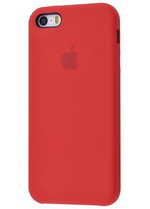 Чехол Original Case для Apple iPhone 5 / 5S / SE Red (arbc8180)