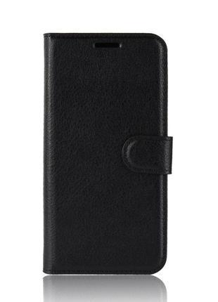 Чехол-книжка Litchie Wallet для Asus Zenfone 6 ZS630KL Black (...