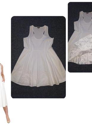 Великолепное белое платье 👗 на пышную фигуру