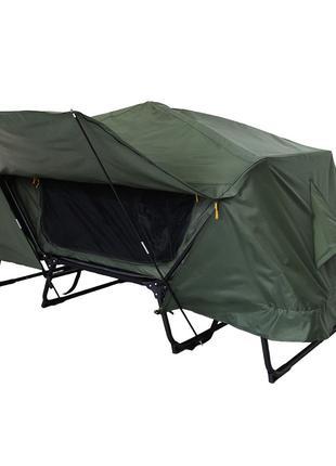 Палатка-раскладушка с тентом. Палатка трансформер. Раскладушка...