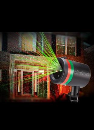 Star shover, лазерный проектор, гирлянда