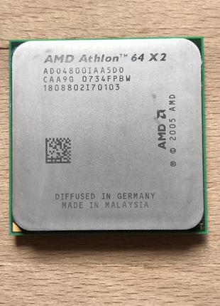 AMD Athlon 64X2 4800 (2 Ядра 2.5 Ghz) / 65W / Socket AM2/AM2+