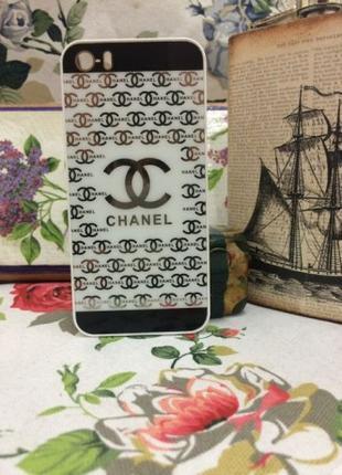 Чехол пластиковый для iPhone 5/5S Белый
