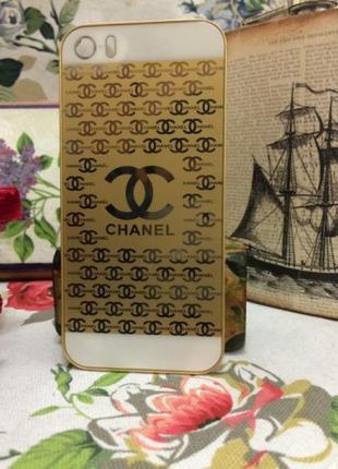 Чехол пластиковый для iPhone 5/5S Золотой