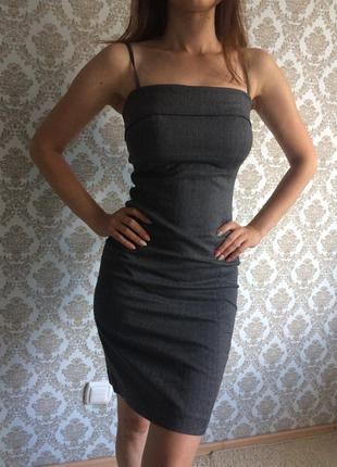 Платье для красивой деловой худой леди😉