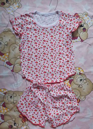 Летняя пижама на девочку