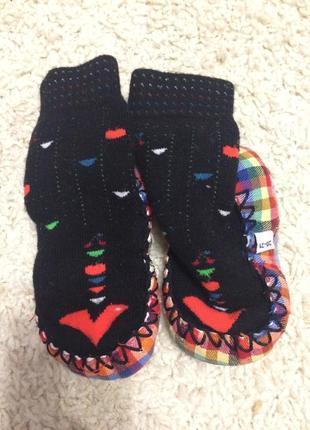Якісні тапки носочки 9-12 міс. 20-21 розмір