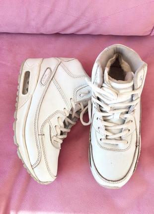 Кроссовки ботинки  кожа зима 35-36р