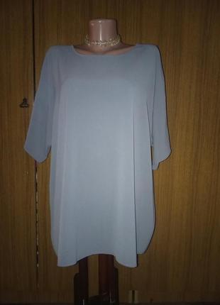 Шикарная и нарядная шифоновая блуза