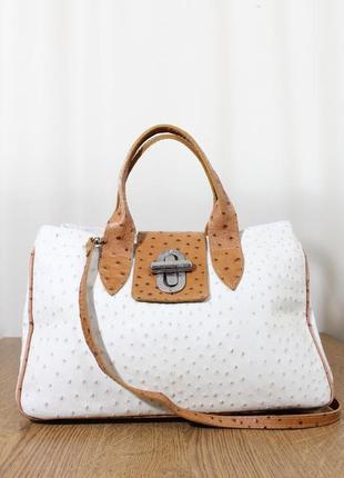 Кожаная сумка borse in pelle , италия