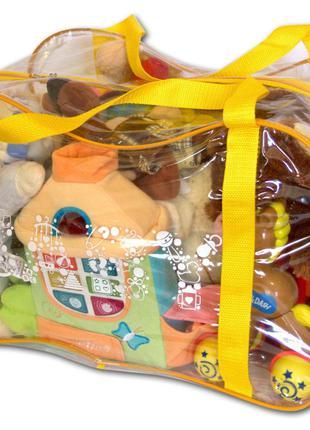 Сумка в роддом, для игрушек Organize желтый K005 DOS-34-176410