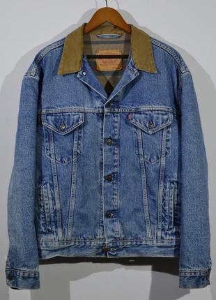 Джинсовка levi`s 70602 vintage trucker jacket