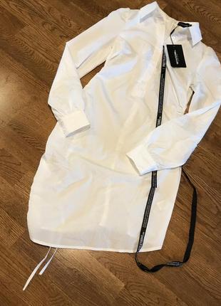 Удлиненная блузка рубашка , p. xs/34-36