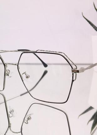 Оправа под замену линз 9270 серебристый (Optic)