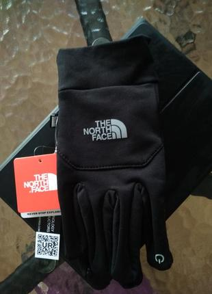 Перчатки зимние the north face men's etip touch glove tnf