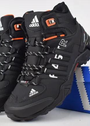 мужские зимние ботинки , Adidas faster , 41-45р