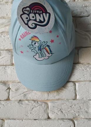 My little pony мой маленький пони радуга кепка
