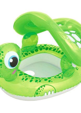 """Детский надувной круг-плотик """"Черепаха"""" Bestway"""