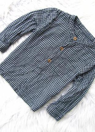 Качественная и стильная рубашка marks & spencer.