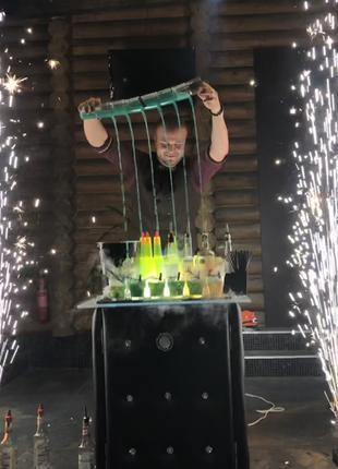 Бармен-шоу на Новый Год !!!