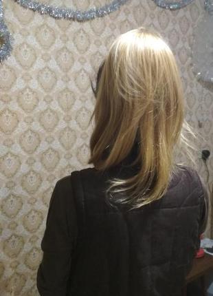 Шеньон из натуральных волос.
