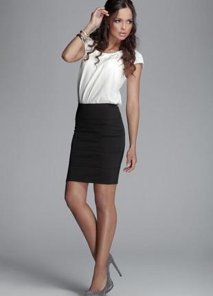 Классическая юбка-карандаш Sisley, S