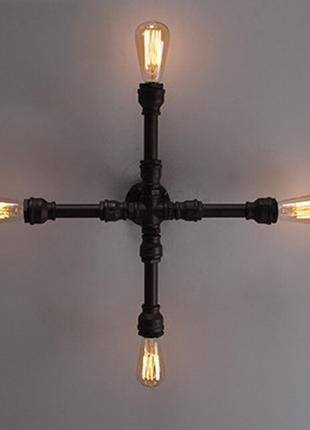 Светильники лофт/Светильники из труб
