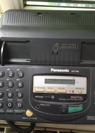 Факс Panasonic KX-FT68