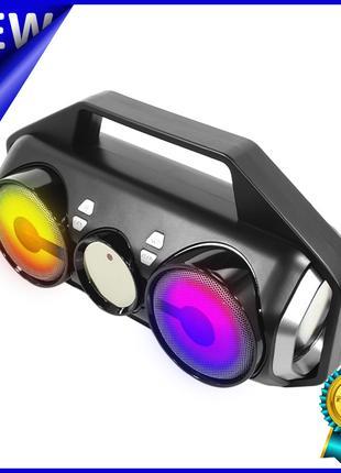 Беспроводная колонка портативная Lesko YZS-M11 Grey Bluetooth ...