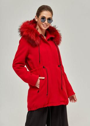 Куртка парка осенняя зимняя весенняя демисезонная плащ ветровка