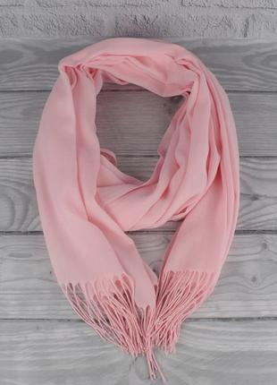 Демисезонный тонкий кашемировый шарф, палантин ozsoy 7180-5 ро...