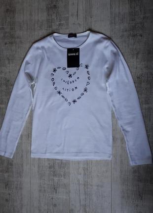 Белая кофта с длинным рукавом, свитер