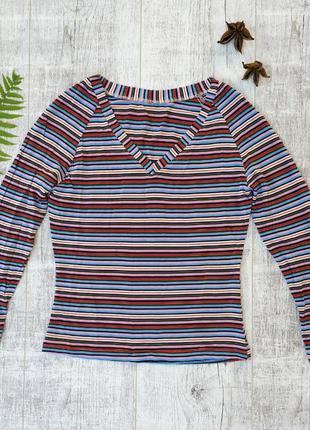 Кофта с длинным рукавом, легкий свитерок