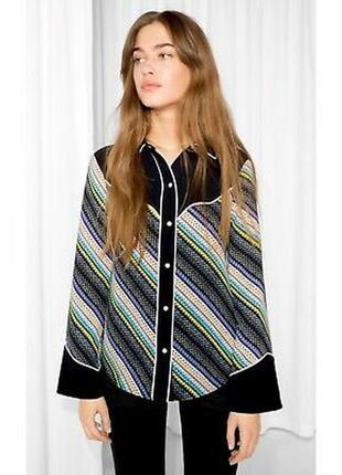 Ковбойская полосатая рубашка ,блуза в ретро,винтаж стиле,& oth...