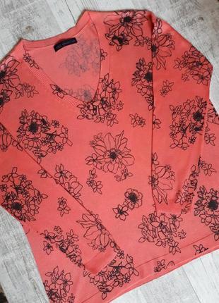 Свитер, кофта, джемпер, пуловер в цветы
