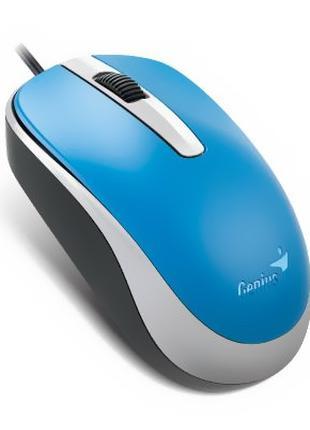 Мышь Genius DX-120 USB Blue