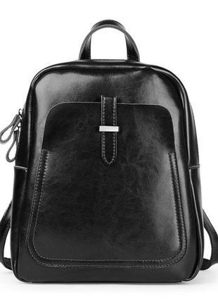 Рюкзак сумка кожаный женский городской. рюкзак трансформер из ...