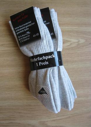 Мужские носки р.44-45 комфорт ваших ног 3 пары=одна цена германия