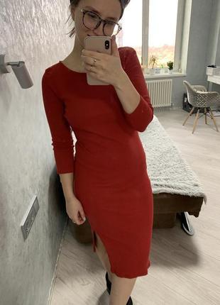 Шикарное платье миди calliope