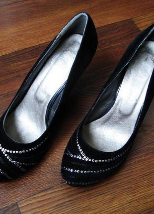 Классические бархатные туфельки tm jose amorales, сезон осень-...