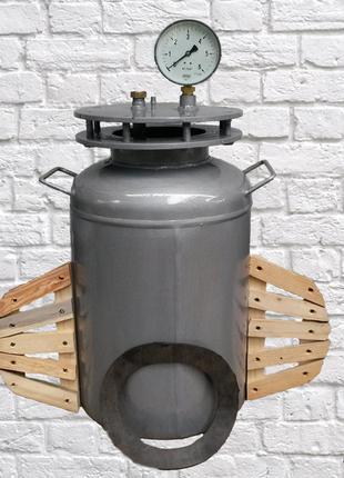 Автоклав для изготовления домашней консервации и тушенки за 30 ми