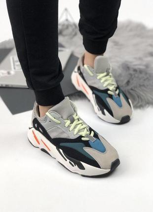 Удобные спортивные кроссовки adidas из замши (весна-лето-осень)😍